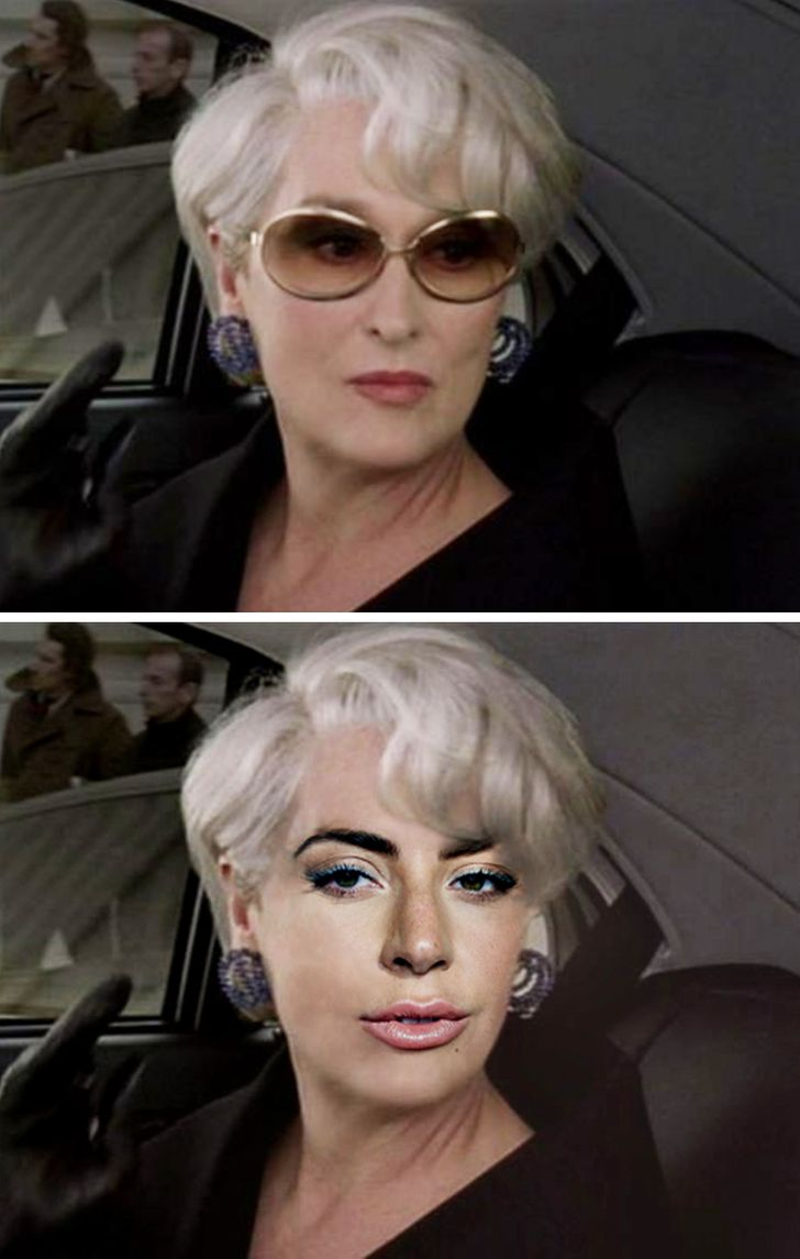 Imaginamos Lady Gaga no papel de algumas personagens poderosas do cinema
