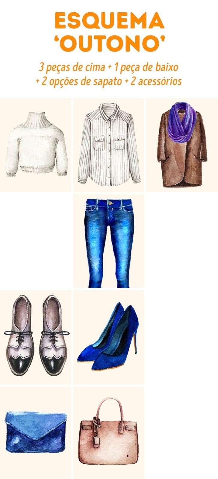 Umjeito simples dedescobrir sevocê tem roupas suficientes