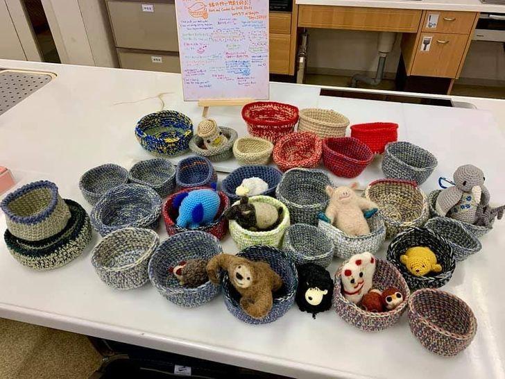 Um abrigo de animais pediu ajuda para filhotes que haviam caído de seus ninhos e a resposta de tecelões do mundo todo veio sem demora