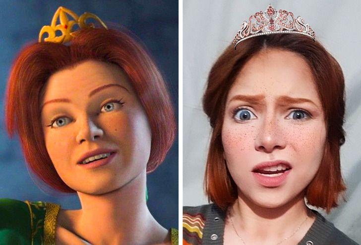 11 Fotos de garotas que imitaram personagens de animação inesquecíveis, e o resultado superou as expectativas