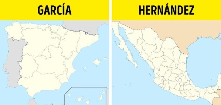Assim nasceram alguns dos sobrenomes hispânicos mais comuns