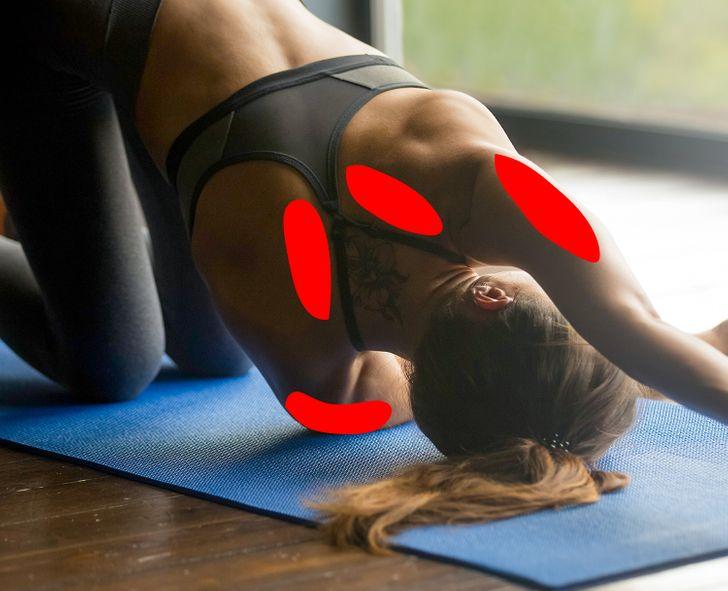 11Alongamentos para aliviar atensão nopescoço enos ombros