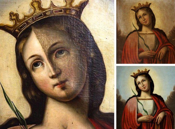 16 Restaurações milagrosas feitas por verdadeiros salvadores de obras de arte