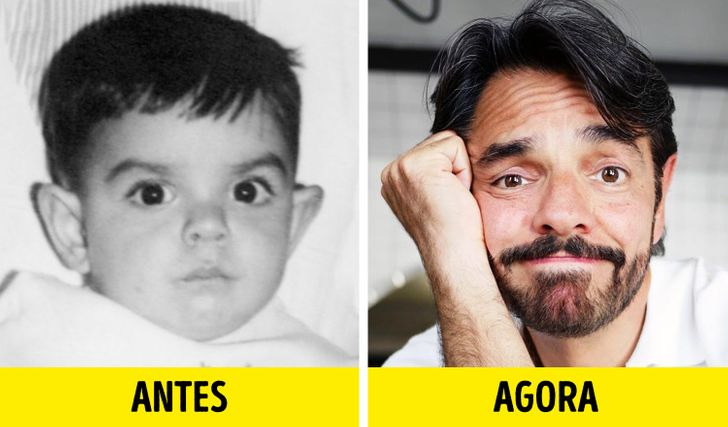 15 Fotos de celebridades latinas na infância, quando não imaginavam o sucesso que alcançariam