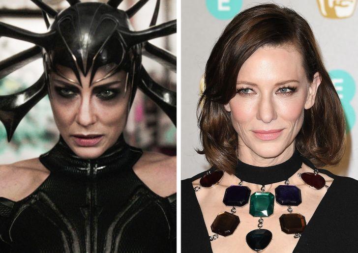 19 Atores que se atreveram a ocultar sua beleza atrás das terríveis máscaras dos supervilões da Marvel