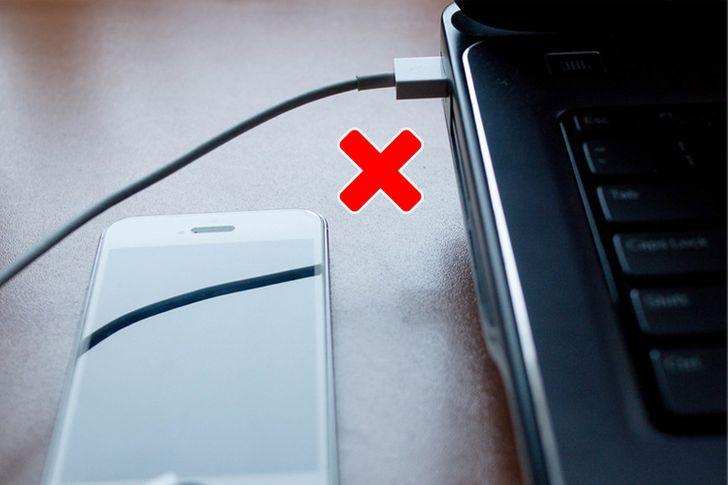 10 Erros que cometemos quando carregamos o nosso celular