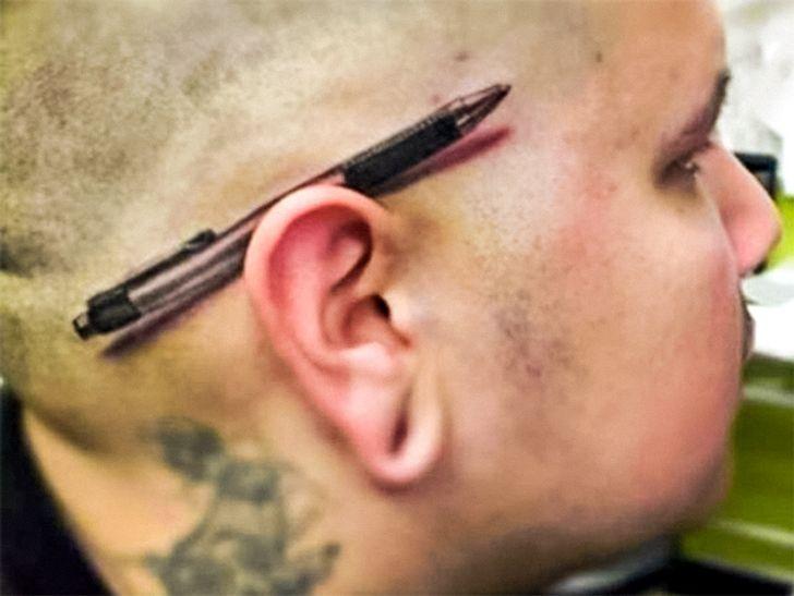 Tatuagens 3Dcom efeitos simplesmente inacreditáveis