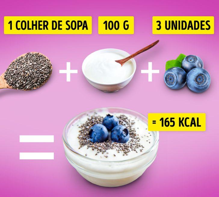 10+ Lanches saudáveis que contêm menos do que 200 calorias