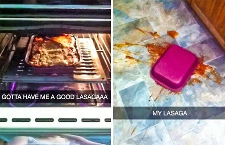 Quando cozinhar setransforma emumgrande pesadelo