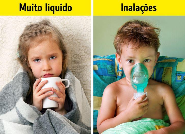 6Doenças infantis parecidas com resfriado, mas que são perigosas