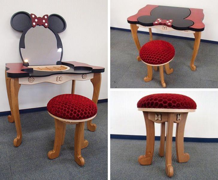 Designer criou móveis mágicos inspirados nos filmes da Disney (e suas criações alegram qualquer lugar)