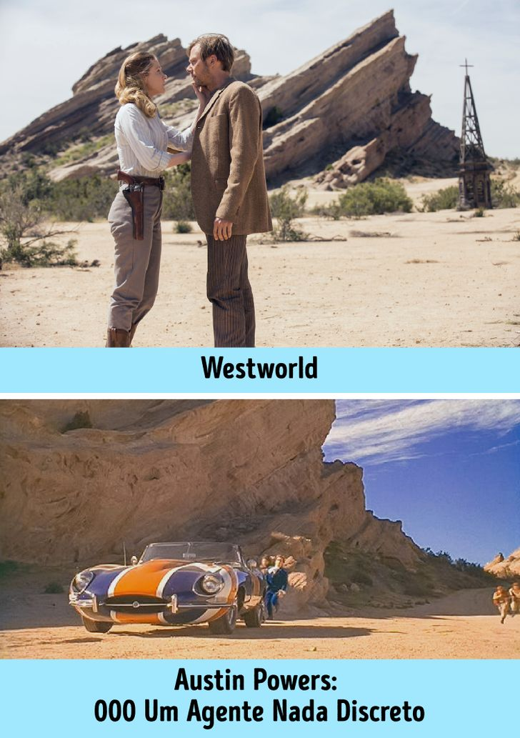 18 Lugares icônicos onde nossos filmes e séries favoritos foram rodados