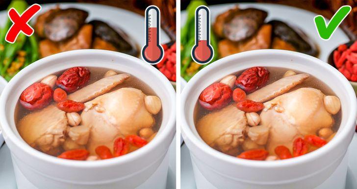 13Erros culinários que até oschefes experientes cometem