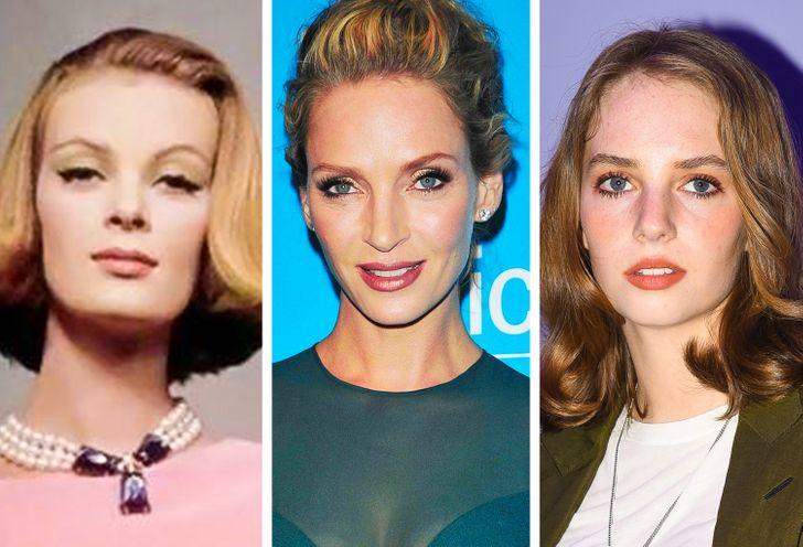 Três gerações de 10+ dinastias de celebridades cujas mulheres evoluíram com perfeição