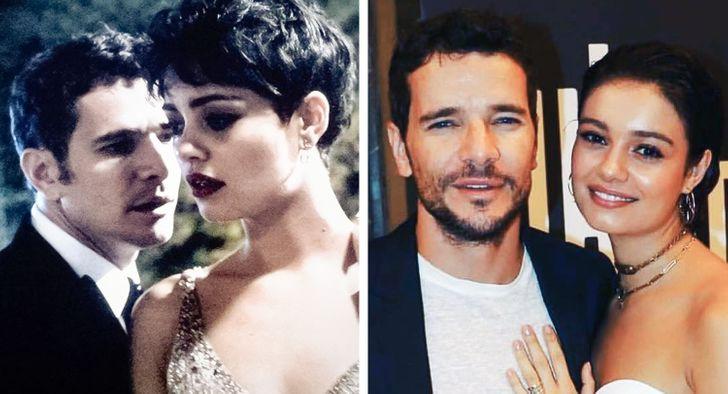 10 Famosos brasileiros que fizeram par romântico na telinha e engataram namoro na vida real também