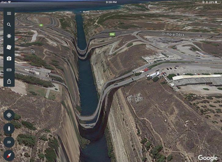 15+ Lugares e objetos inusitados encontrados no Google Maps