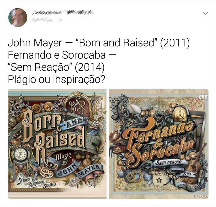20+ Capas de discos e CDs que são, estranhamente, muito parecidas